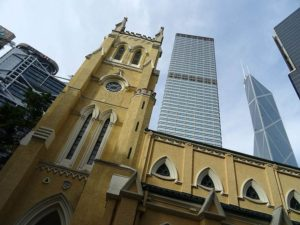 Katedra świetego Jana Hongkong atrakcje