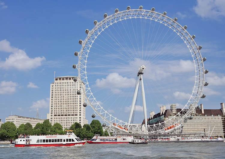 London Eye ciekawostki o Londynie London Anglia