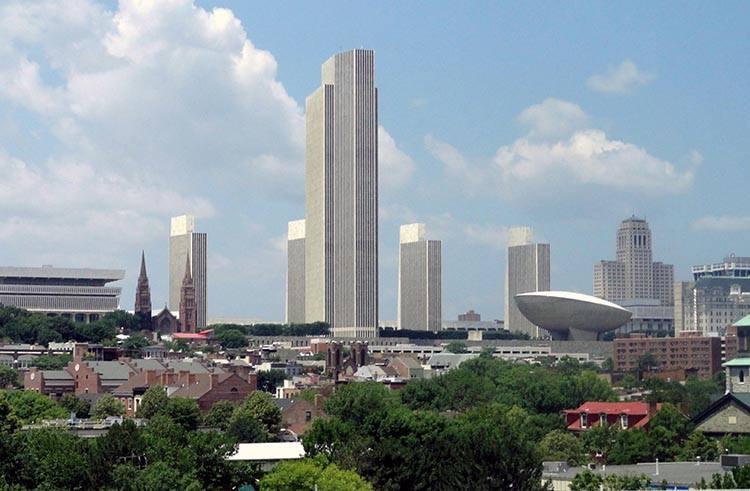 miasto Albany Nowy Jork USA ciekawostki atrakcje