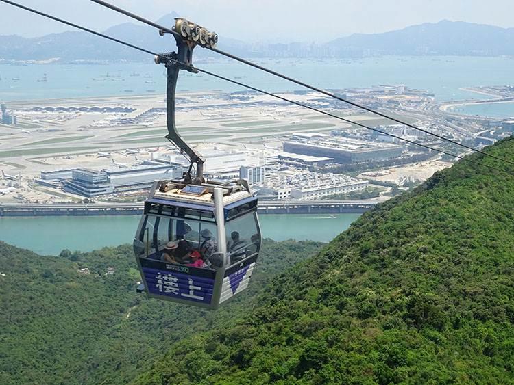 Ngong Ping 360 Village Cable Car
