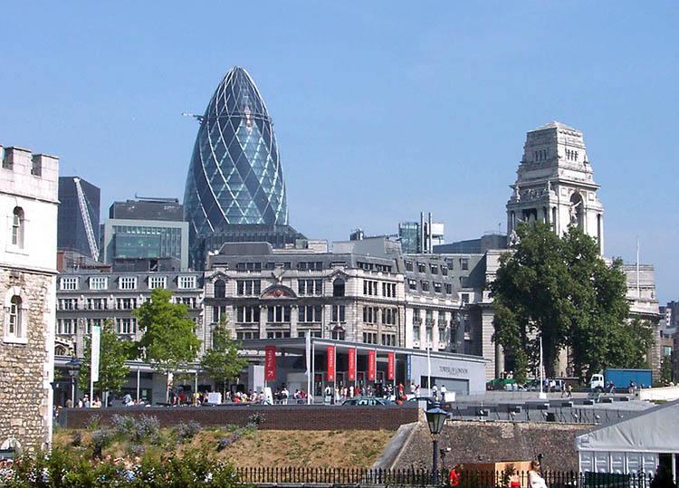 Ogórek Gherkin Londyn ciekawostki Anglia