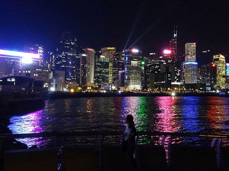 pokaz multimedialny Hongkong atrakcje