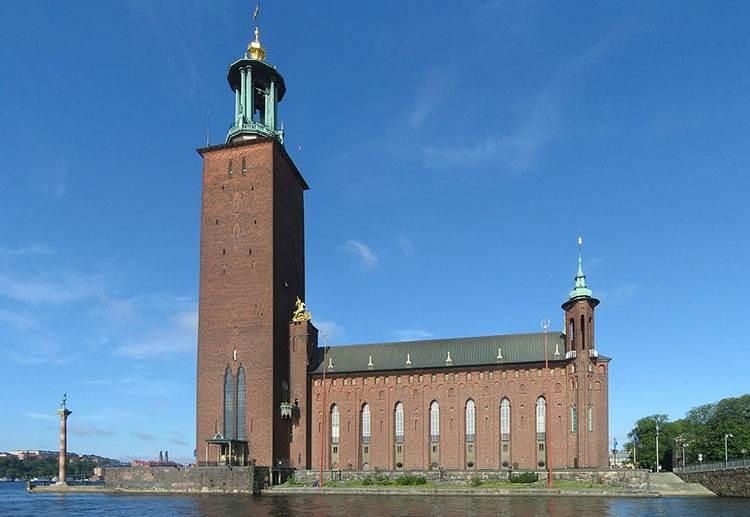 ratusz Sztokholm Szwecja Nagroda Nobla ciekawostki nagrody Alfred Nobel