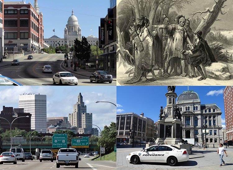 Rhode Island stan USA ciekawostki Providence Stany Zjednoczone
