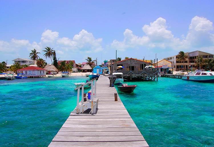 San Pedro Belize ciekawostki atrakcje Ameryka Środkowa