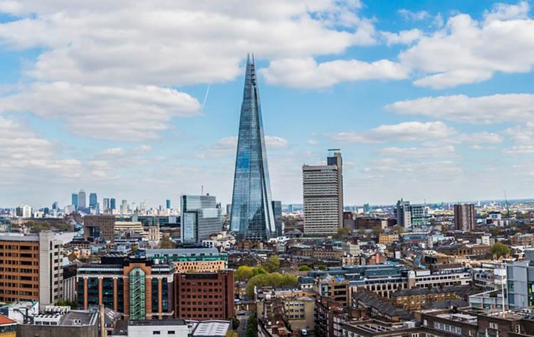 Shard London Londyn ciekawostki Anglia