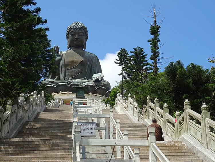 Tian Tan Budda wielki hongkong atrakcje