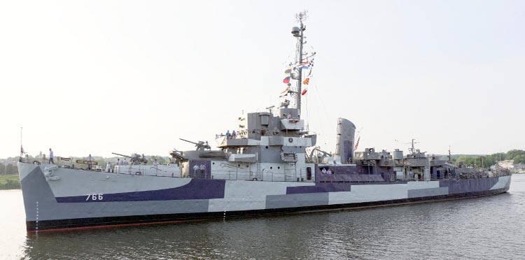 USS Slater Albany Nowy Jork USA ciekawostki atrakcje