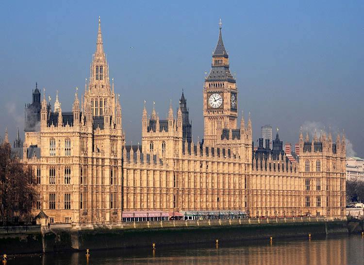 Westminster Pałac Westminsterski ciekawostki o Londynie London Anglia
