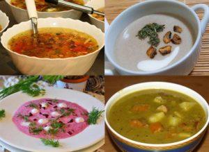 zupa zupy ciekawostki rodzaje zup obiadowe