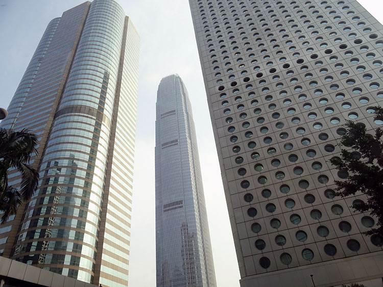 Two International Finance Centre Hong Kong miasto Hongkong wieżowce architektura