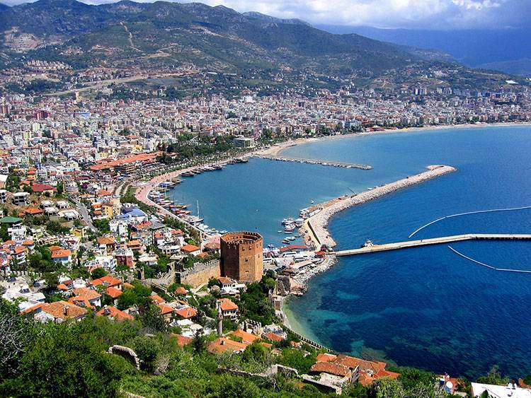 Alanya-Riwiera Turecka atrakcje wakacje Turcja