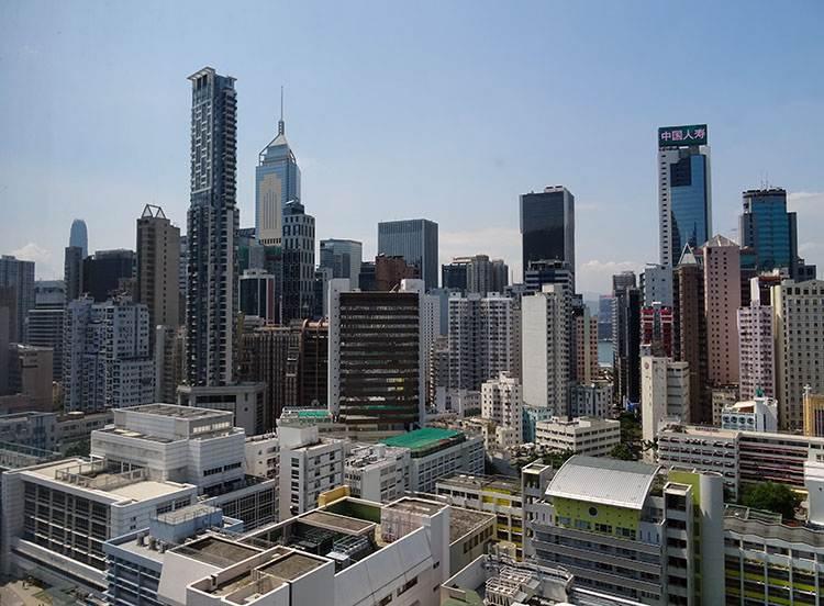 Central Plaza Hong Kong miasto Hongkong wieżowce architektura