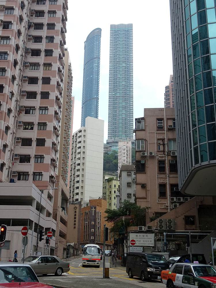 Hong Kong miasto Hongkong wieżowce architektura ciekawostki budownictwo