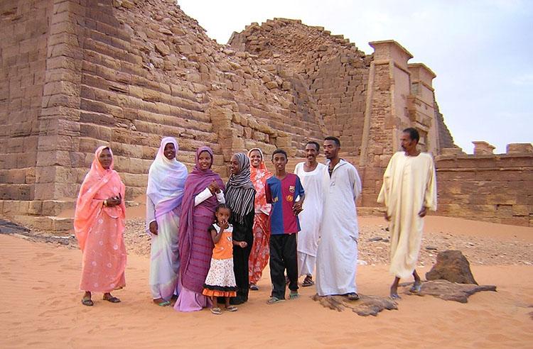 piramidy atrakcje Sudan ciekawostki o Sudanie zabytki