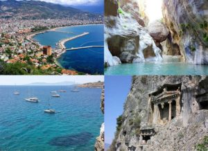 Riwiera Turecka atrakcje wakacje Turcja