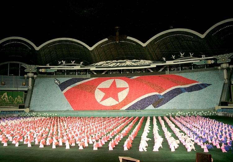 stadion Pyongyang Korea Północna ciekawostki o Korei Północnej