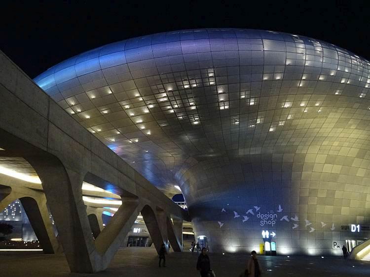 Dongdaemun Seul Korea Południowa Zaha Hadid