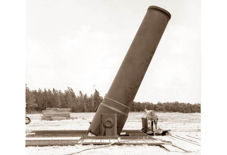 Little David armaty ciekawostki działa artyleria