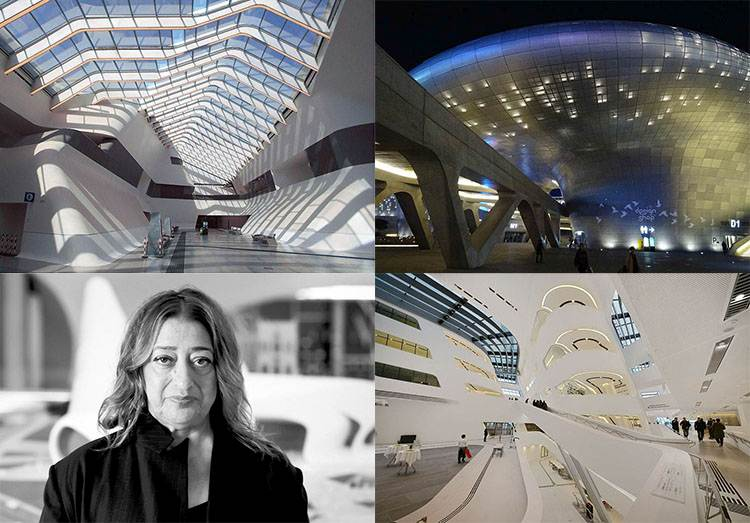Zaha Hadid architekt Iran