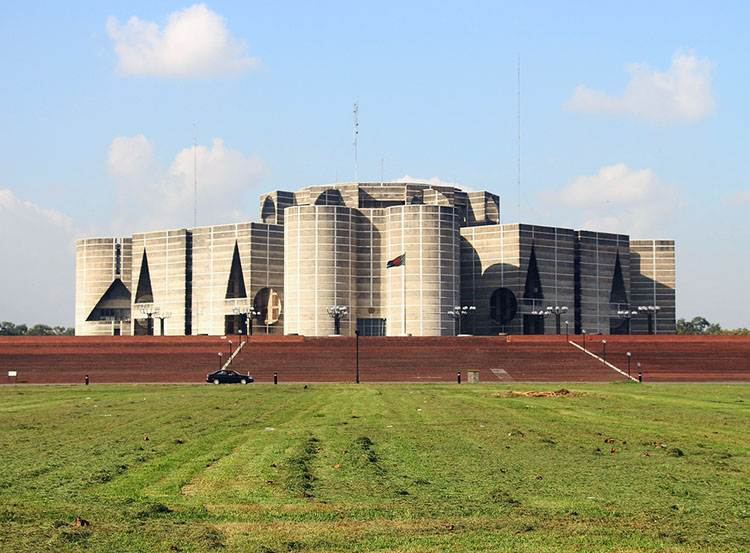 parlament Dhaka Bangladesz ciekawostki