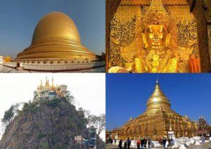 Birma atrakcje Mjanma zabytki