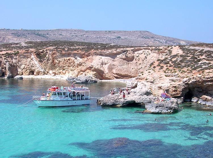 Blue Lagune Malta ciekawostki plaże wakacje