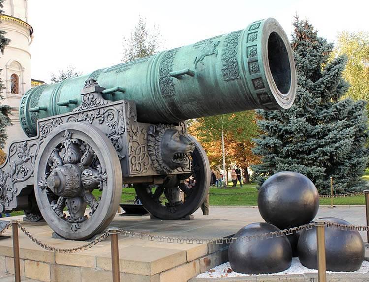 Car Puszka armaty ciekawostki działa artyleria