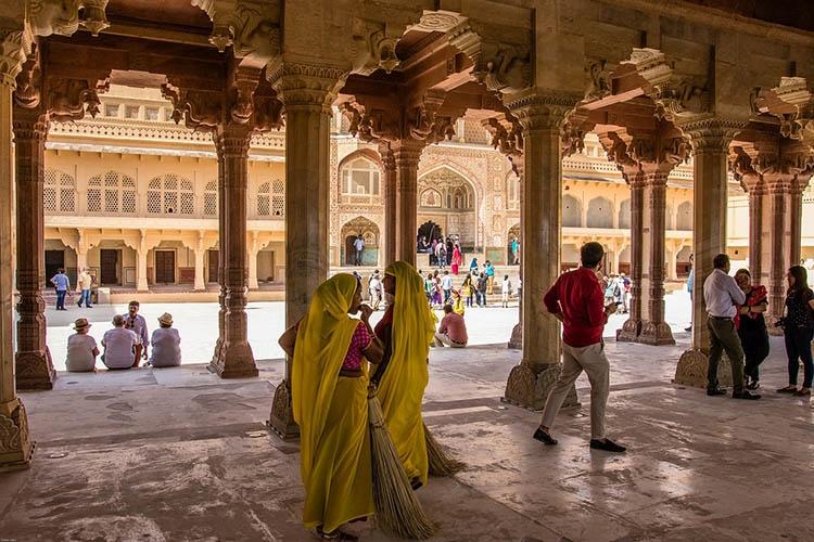 fort Amber Jaipur Indie ciekawostki atrakcje kultura zabytki