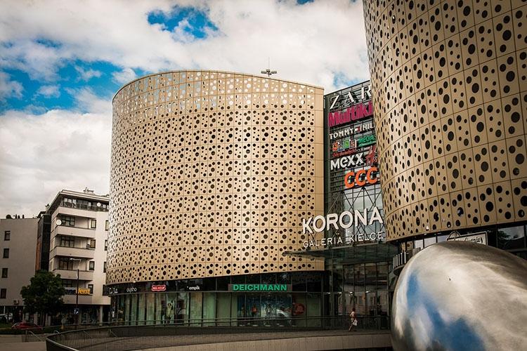Korona galeria handlowa Kielce ciekawostki atrakcje