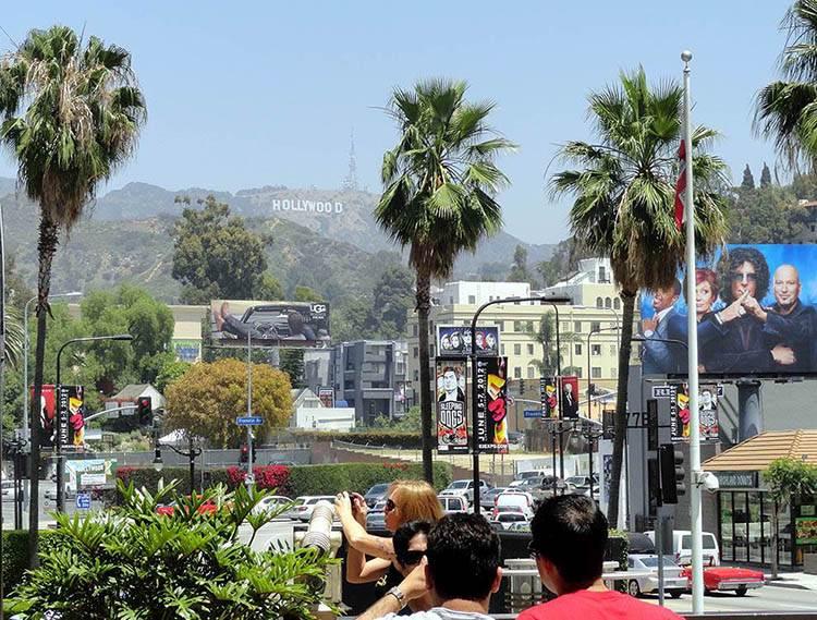 Hollywood Sign znak ciekawostki zdjęcia historia litery