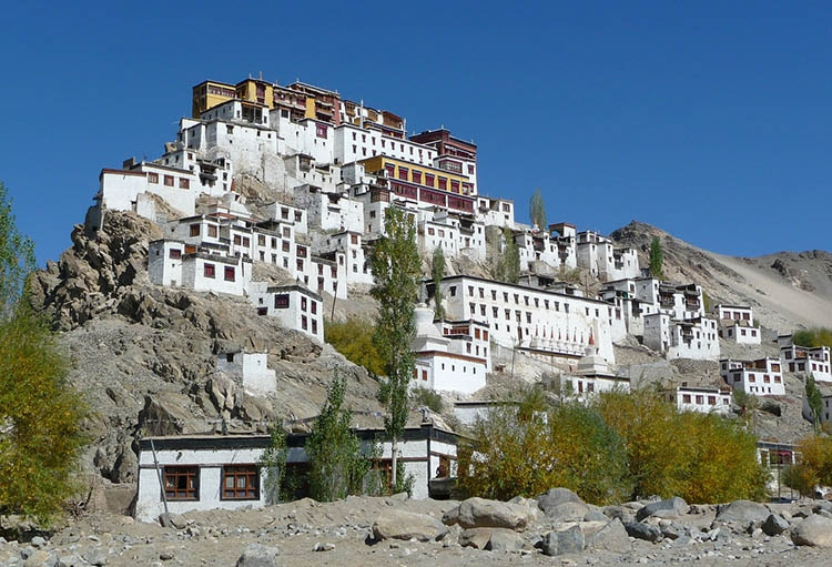 Ladakh klasztor Indie ciekawostki atrakcje kultura zabytki