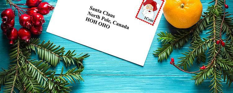 list do świętego Mikołaja prezenty Mikołaj