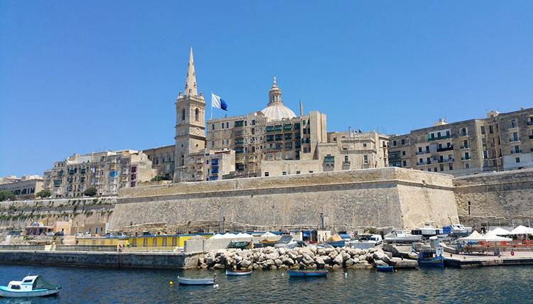 Malta ciekawostki Valetta
