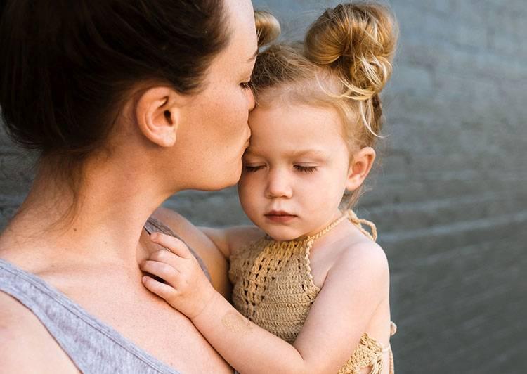 mama dziecko dzieci pocałunek całowanie ciekawostki pocałunki miłość Walentynki