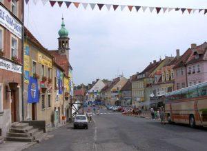 Plac Wolności Lubomierz ciekawostki filmy Sami Swoi Festiwal Polskich Komedii