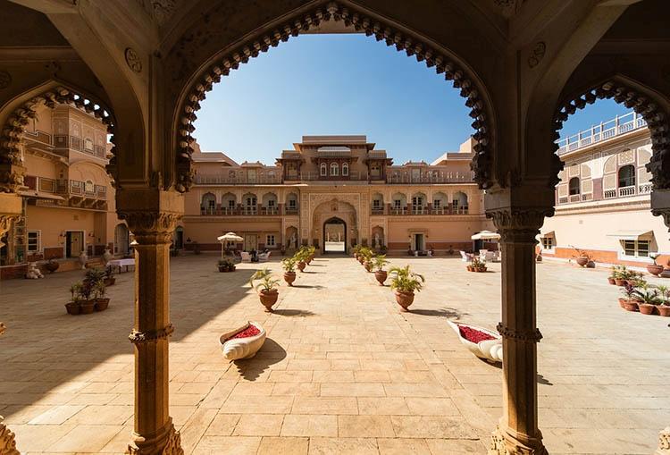 Radżastan pałac Chomu Indie ciekawostki atrakcje kultura zabytki