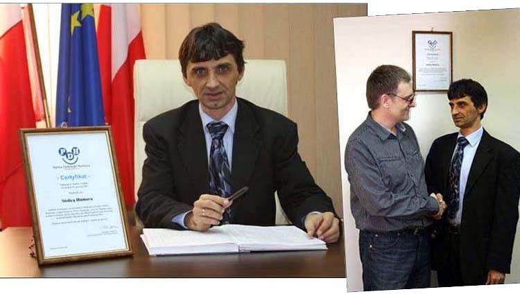 Wąchock ciekawostki stolica humoru partia dobrego burmistrz Wąchocka certyfikat