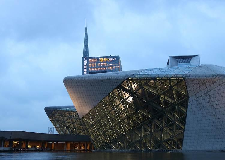 Guangzhou opera Zaha Hadid