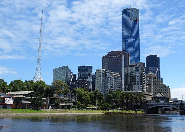 Melbourne ciekawostki atrakcje Australia