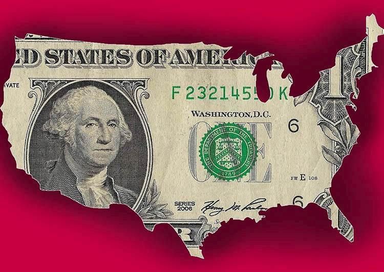 dolar ciekawostki historia dolary USA waluta