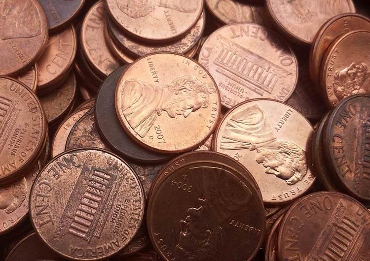 dolar ciekawostki historia dolary USA waluta 1 cent centy