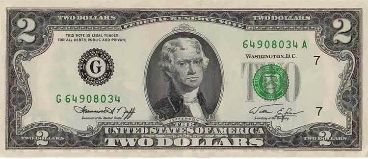dolar ciekawostki historia dolary USA waluta prezydenci
