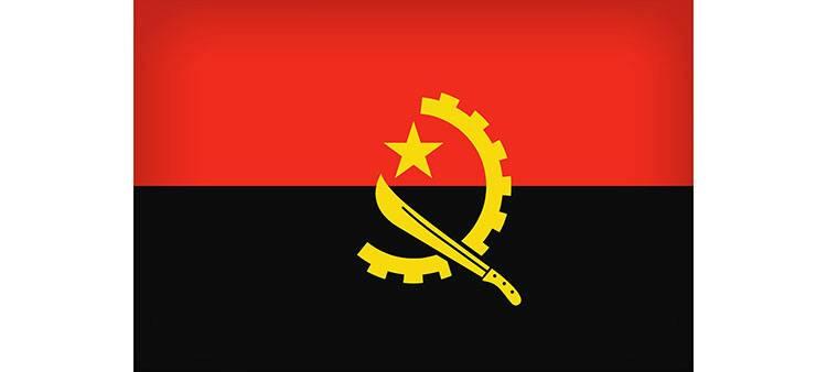 flaga Angoli Angola ciekawostki atrakcje Afryka
