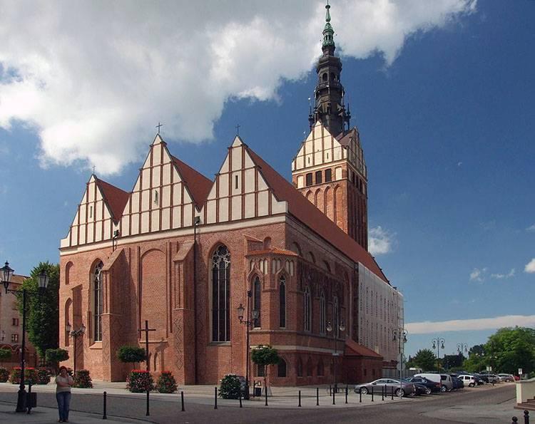 katedra świętego mikołaja  Elbląg ciekawostki atrakcje zabytki
