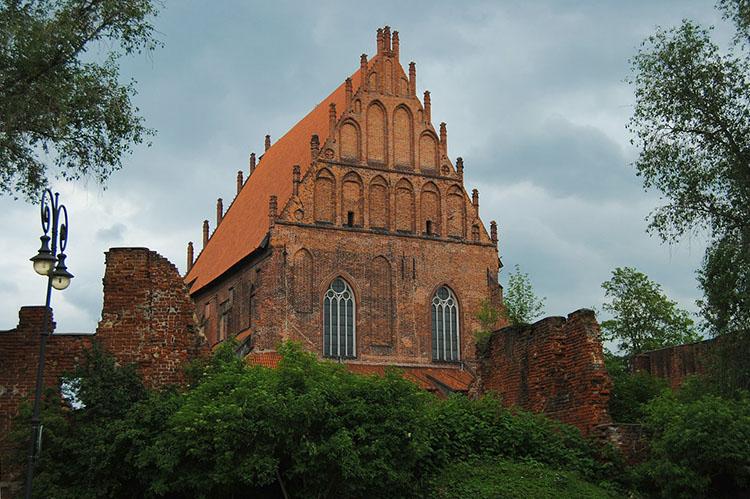 kościół  Elbląg ciekawostki atrakcje zabytki