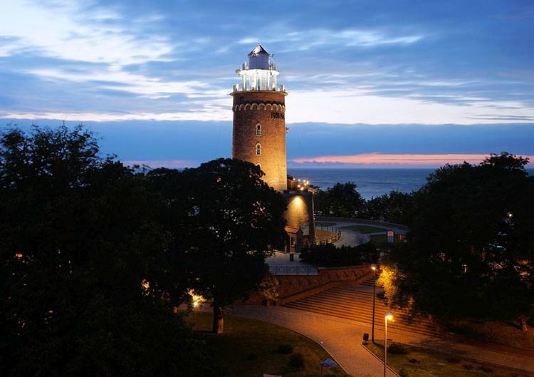 latarnia morska Kołobrzeg Bałtyk Morze Bałtyckie ciekawostki