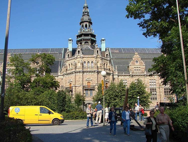 muzeum Nordiska Museet Sztokholm ciekawostki Szwecja muzea atrakcje
