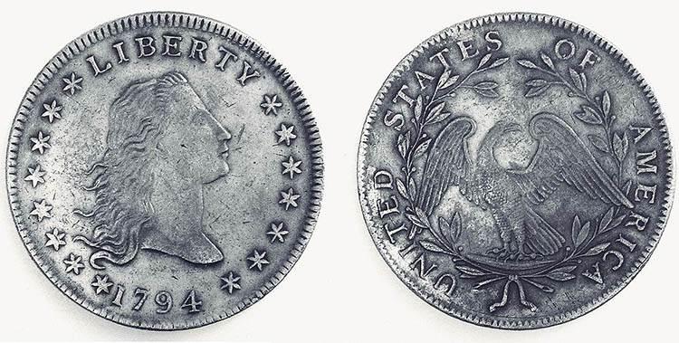 dolar ciekawostki historia dolary USA waluta pierwszy dolar 1784