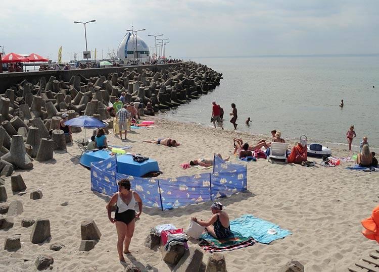 plaża Hel ciekawostki atrakcje wakacje